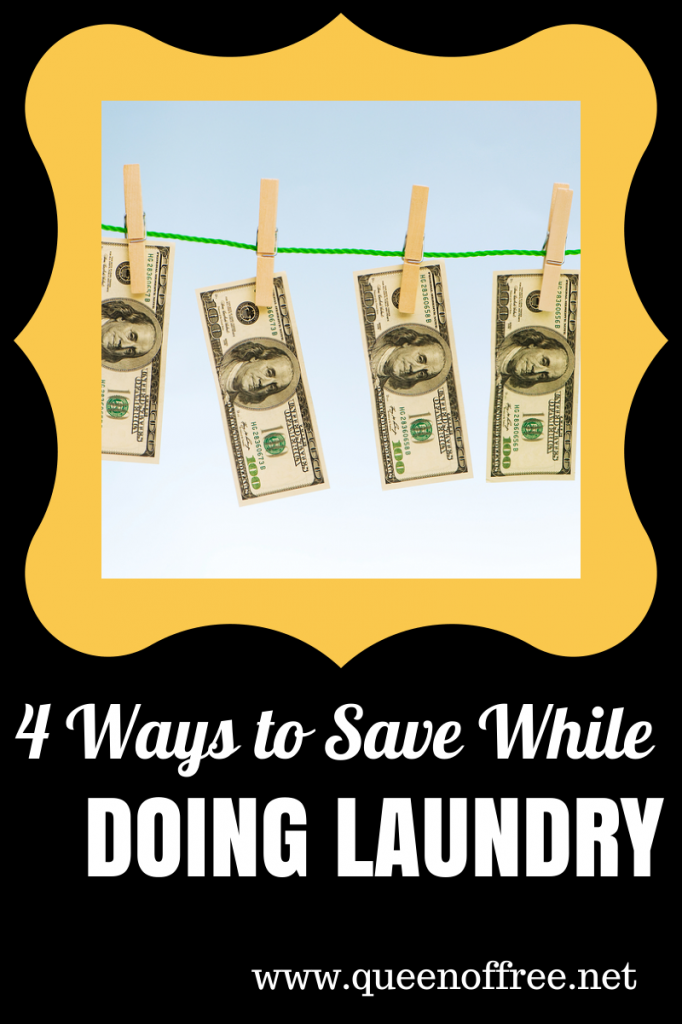 Easy tips that you can implement TODAY to save money on laundry.
