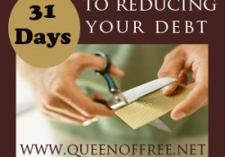 Day 14: 31 Days to Reducing Your Debt