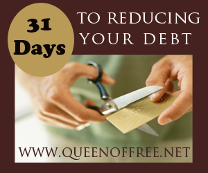 Day 26: 31 Days to Reducing Your Debt