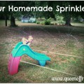 Homemade Sprinkler from PVC Pipe