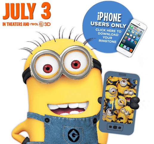 CUTE Despicable Me Ringtones for FREE!