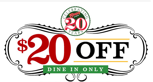Royal Coupon Alert Buca Di Beppo 20 20 Queen Of Free