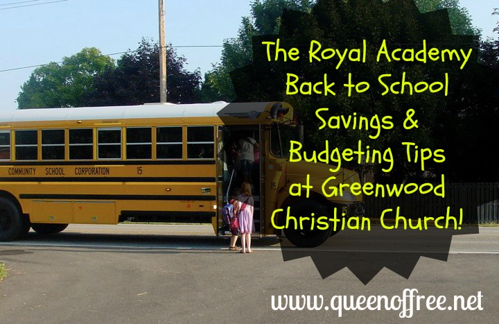 Learn @thequeenoffree's best tips for Saving & Budgeting for Back to School!