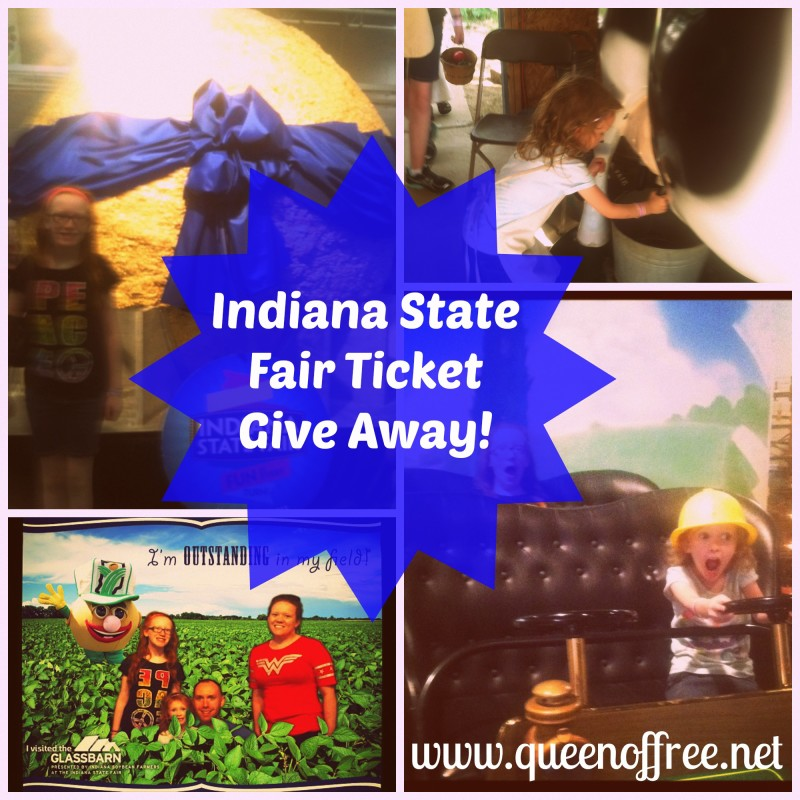 Royal Give Away: Indiana State Fair Family Pack of Tickets!