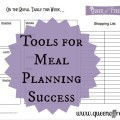 Tips & Tricks to Make You a Meal Planning Genius!