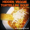 What a great way to hide yo' veggies from yo' kids! Delicious Tortellini Soup from @thequeenoffree