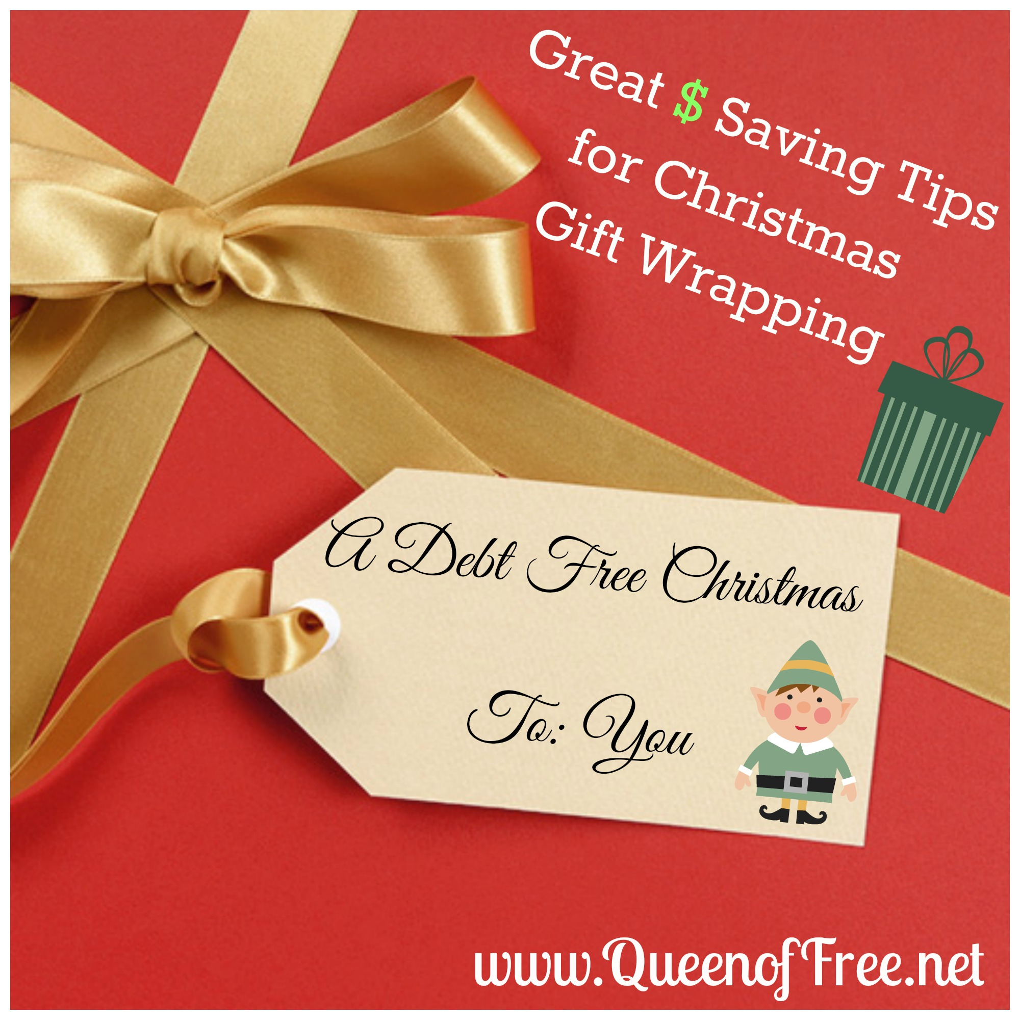 lots of practical ways to make sure you dont overpay for christmas gift wrapping