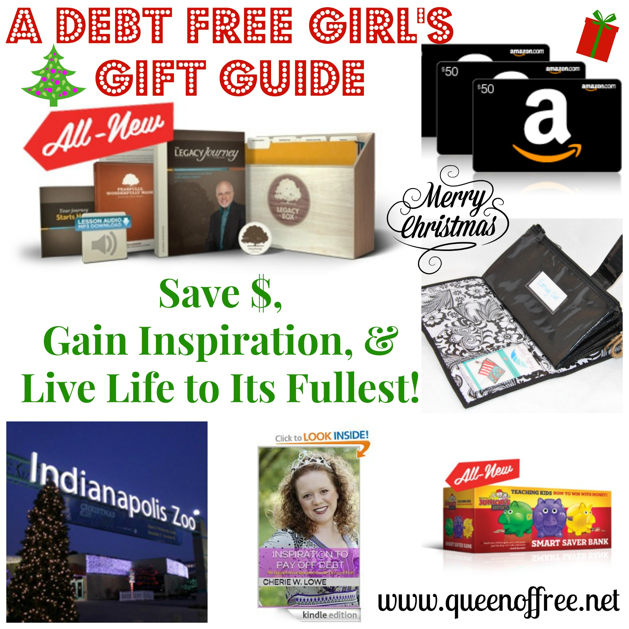A debt free girls gift guide queen of free get great gift giving ideas for people pursuing a debt free lifestyle negle Choice Image