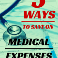 Staying healthy can be expensive! Check out these five simple ways to save on medical costs.