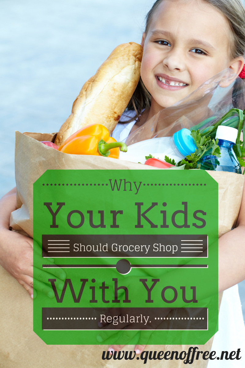 Some of the most valuable lessons about money come at the grocery store. Why you should be regularly taking your kids with you & how to structure the time to teach about personal finance.
