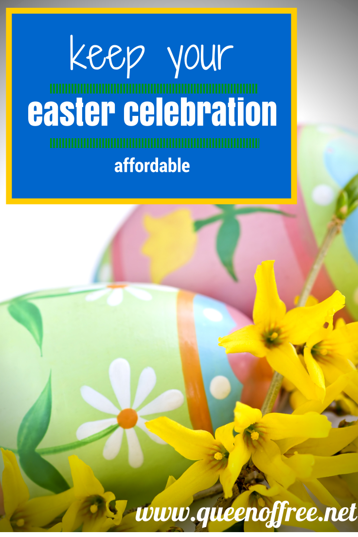 Don't bust the bank at Easter! Use these simple tips to guide your thinking and your spending.