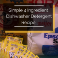 This recipe could save you hundreds of dollars! Plus read lots of great quick hacks to help keep your dishwasher running clean and efficiently.