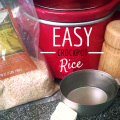 Did you know your crockpot moonlights as a rice maker? The recipe is simple and delicious.