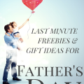 Check out this great round up of Father's Day coupons, freebies, and last minute frugal gift ideas!