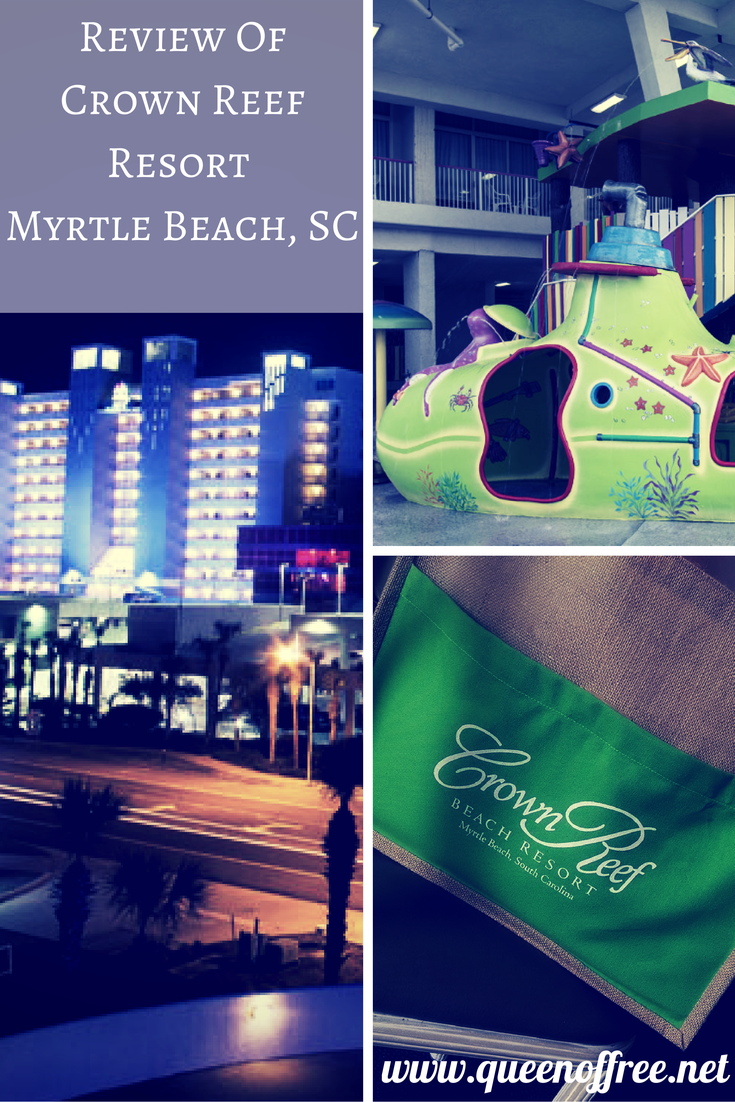 Thinking of heading to Myrtle Beach on Vacation? Check out this review of the newly renovated Crown Reef Resort.
