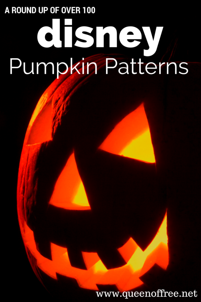 Disney pumpkin carving patterns queen of free