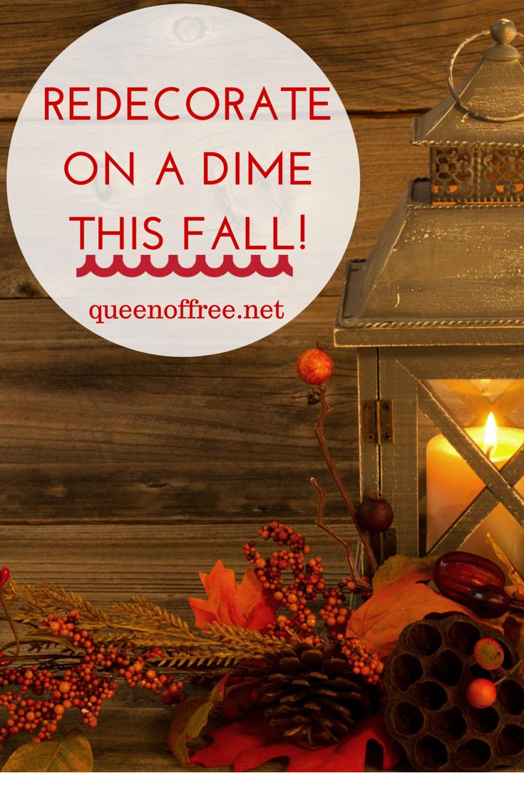 redecorate on a budget this fall queen of free