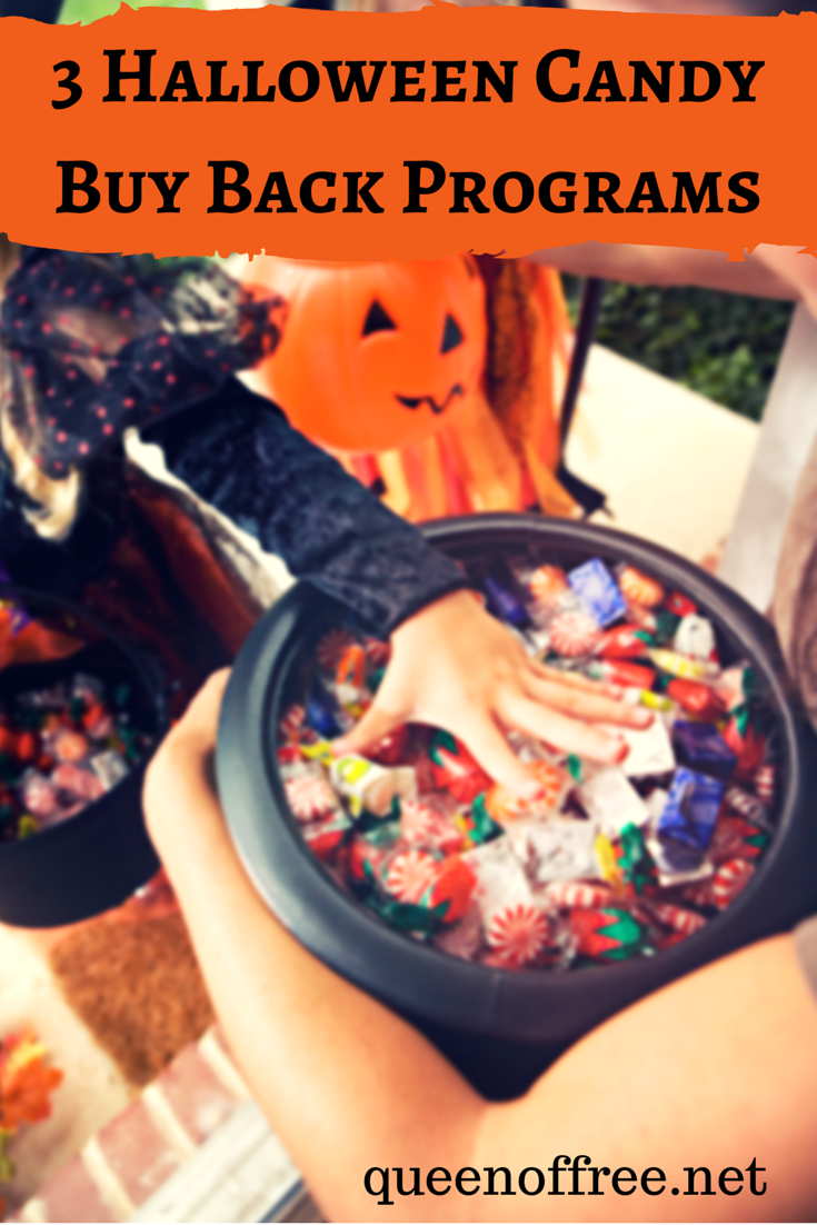 Too much candy in the house? Make good use of it with these great buy back programs.