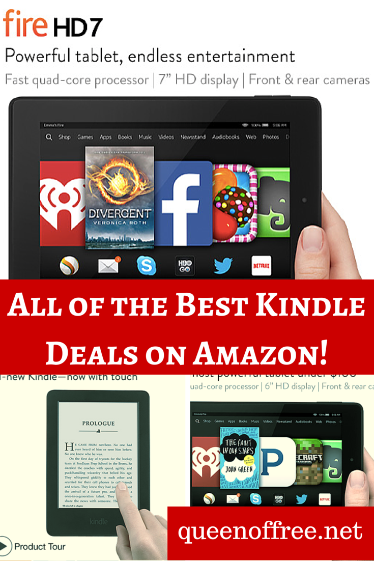 Amazon: Black Friday Kindle Deals (As Little as $49)