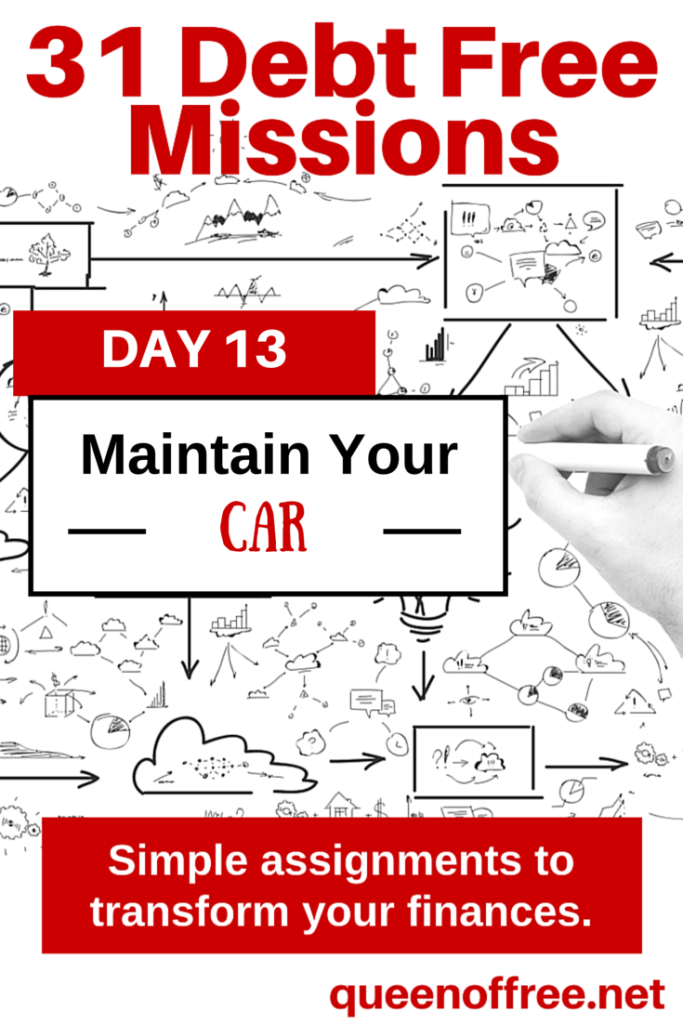 Check out these great tips for regular car maintenance to keep your vehicle and budget on track so you can pay off debt!