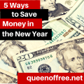 Getting your finances under control at the beginning of the year? Here are five sure fire easy ways to save money!