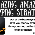 I had never even heard of the fifth strategy! You need to bookmark this post to save money on Amazon every time you shop!