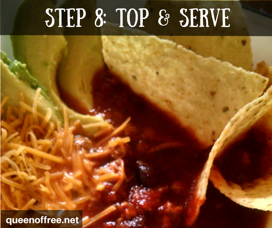 Check out this recipe for a hearty 4 ingredient Turkey Black Bean Chili.
