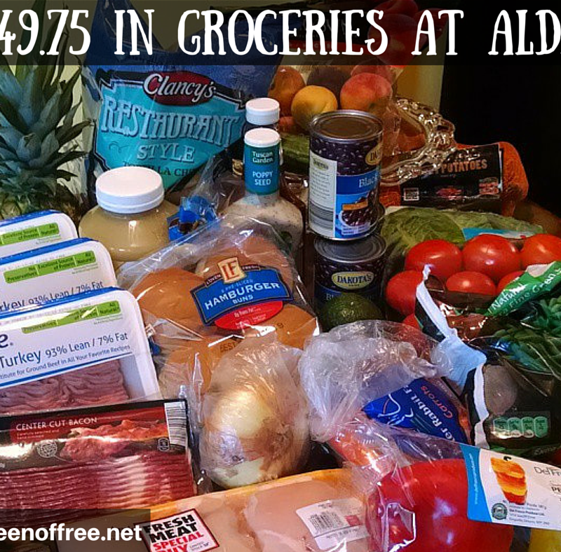 ALL NEW ALDI Meal Plan: 7 Simple Meals for $50