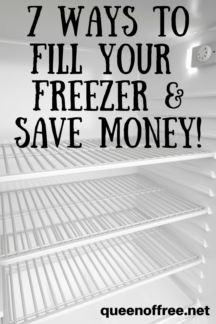 Are you using your freezer to save money in these seven ways? Great tips for what you can freeze and how long it will last!