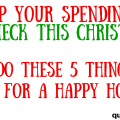 Do not bust your budget this year. Celebrate Christmas in July by getting your ducks in a row NOW. Check out these tips and do them right away.