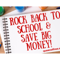 Rock those back to school supplies. These tips are certain to save you money and help your little student begin the year well prepared!