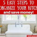 WOW, this is so simple and it will save you a bundle. How to reorganize your kitchen to use the food you have!