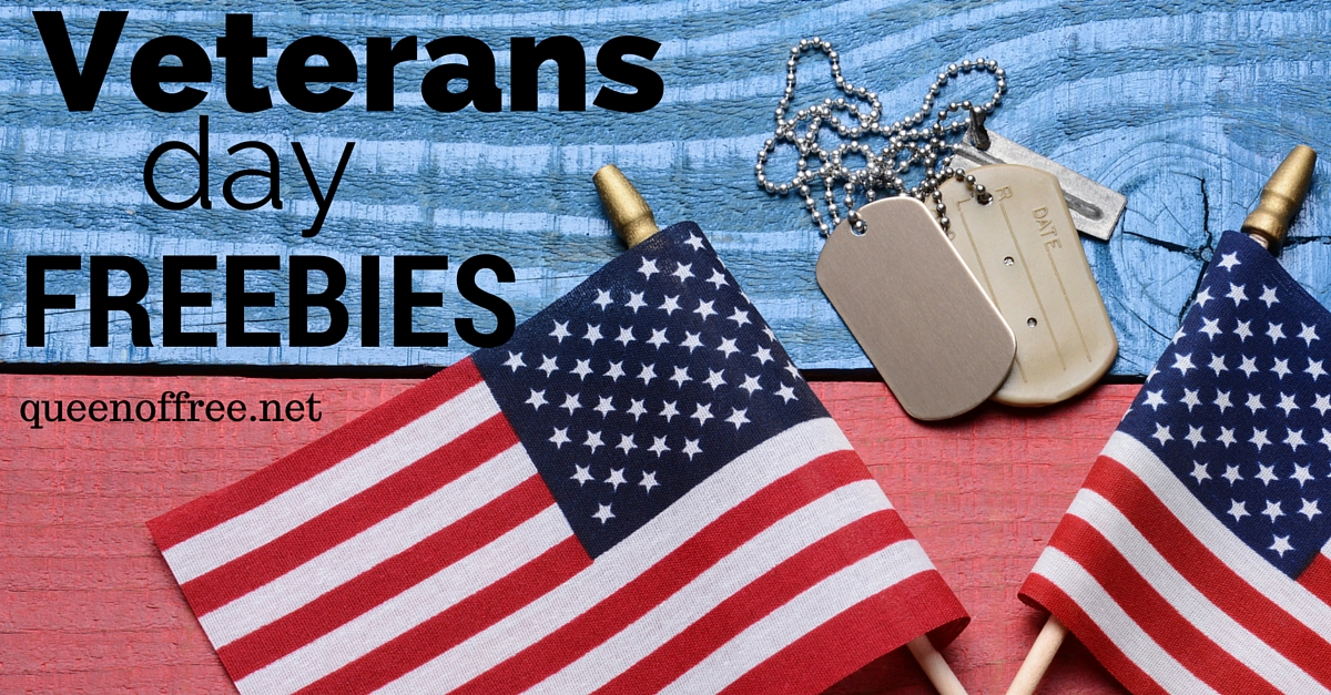 Attention veterans or active duty military! Check out all of these great Veterans Day 2017 freebies, discounts, and events.