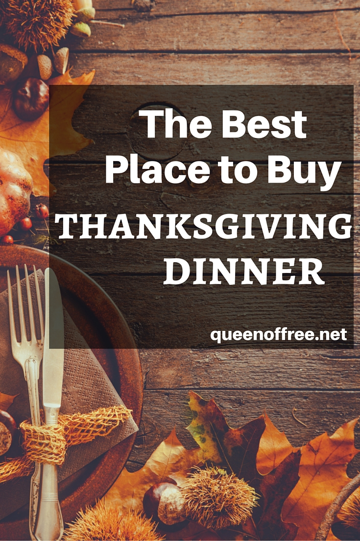 To Go Thanksgiving Dinner Price Comparison