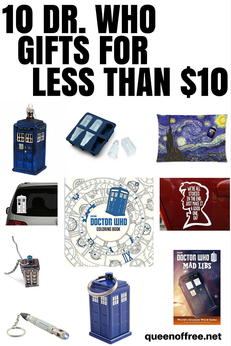 Check Out This Awesome Post With 10 Dr Who Gifts For Less Than Bucks