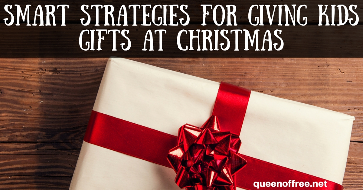 Smart Christmas Gift Giving Ideas for Kids - Queen of Free