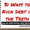 Keep excellent records in your quest to pay off debt. The practice is essential and these great tips will help you up your record keeping game.