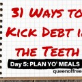 Get some practical and easy ideas to plan meals in the new year. You do not have to dread the process plus you will save hundreds of dollars with these strategies.