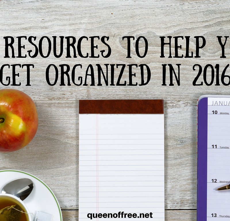 16 Resources to Help You Get Organized in 2016