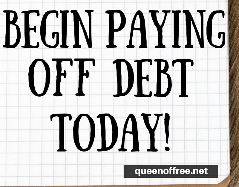 5 Ways to Begin Paying Off Debt TODAY