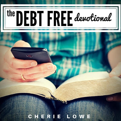 Paying off debt and feeling discouraged? Check out this short 30 day eBook with wisdom straight from God's word to help you stay on the path to becoming debt free. Written by Cherie Lowe, the Queen of Free, who paid off $127K in under 4 years.