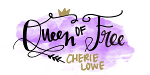 Check out Cherie Lowe, the Queen of Free for the best money saving and debt slaying tips!