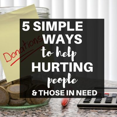 Not sure if you should give money to friends and family in need? Simple tips to truly help hurting people while remaining financially responsible.