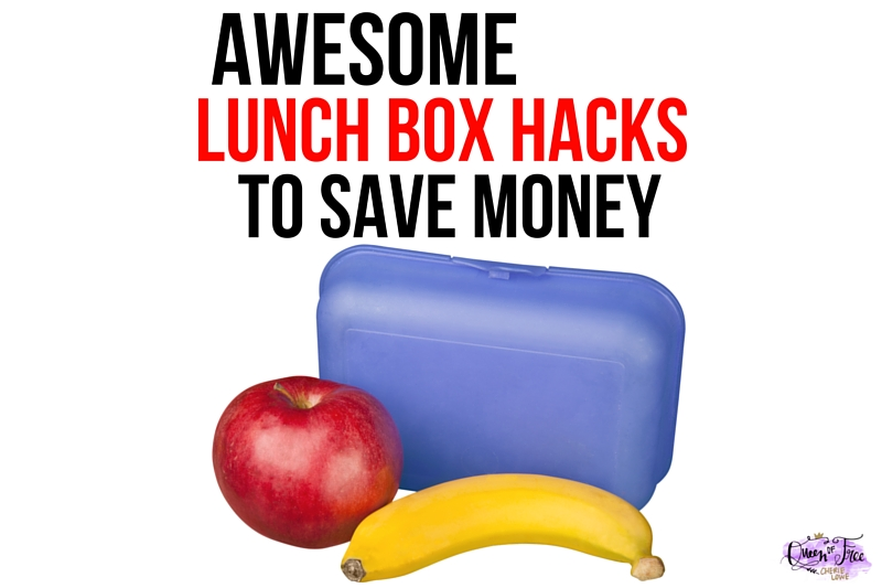 Lunch box hacks featured queen of free for Awesome money box
