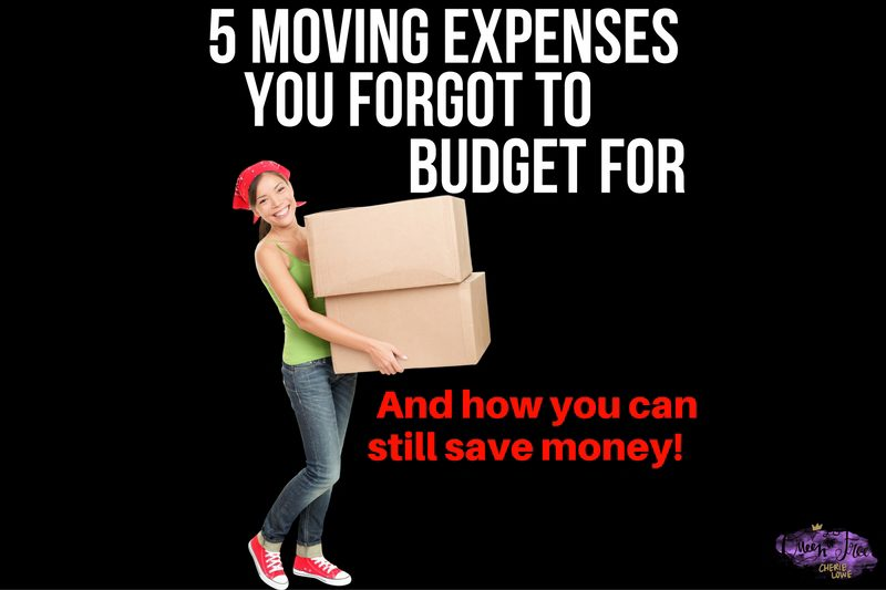 5 Moving Expenses You Forgot About