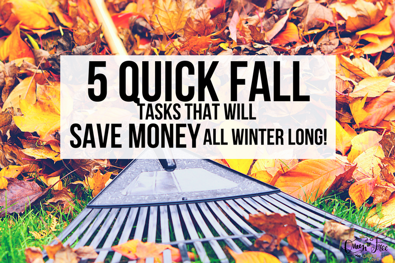 5 Fall Tasks to Do NOW to Save Money During Winter