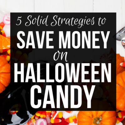 It's that time of year again! Don't let your hard earned cash disappear with all of the chocolate. Save more money on Halloween Candy.