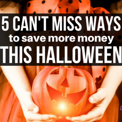 Don't let Halloween terrify your budget! Save More Money This Halloween with these 5 simple tips certain to prevent haunting your wallet.