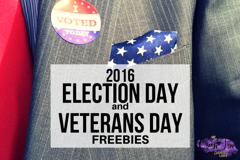 Election and Veterans Day Freebies 2016
