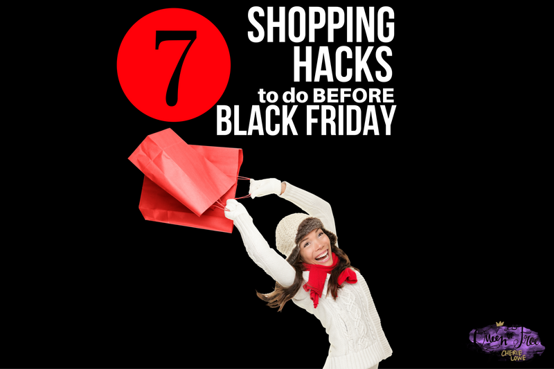7 Shopping Hacks to Do BEFORE Black Friday Shopping